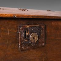Antique Verger's Table Top Desk, English, Oak, Ecclesiastical, William III 1700 (12 of 12)