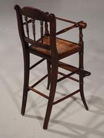 Attractive Late 19th Century Child's High Chair (3 of 5)