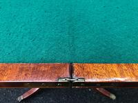 Quality Inlaid Mahogany Fold Over Games Table (10 of 12)