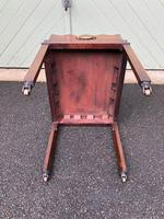 Antique Mahogany Tray on Stand (5 of 6)