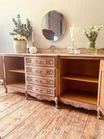 French Antique Sideboard / Louis XV Style Sideboard / Antique Oak Buffet (9 of 9)