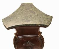 Pair of Gillows Pedestal Stands Carved Neo Classical Tables 1880 (6 of 13)