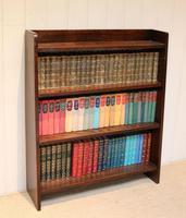 Solid Oak Graduated Bookshelves (2 of 10)