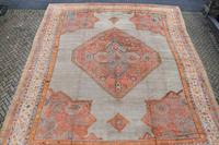 Massive Antique Ushak Carpet 597x525cm (9 of 13)