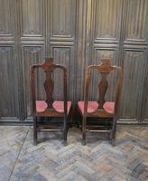 Pair of Queen Anne Period Child's Chairs (3 of 6)