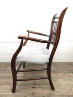 Antique 19th Century Spindle Back Chair (5 of 13)