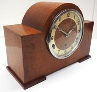 Good Arched Top Art Deco Mantel Clock – Musical Westminster Chiming 8-day Mantle Clock (3 of 11)