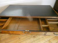 Neat 18th Century Partners Desk (2 of 15)