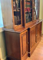 Late Victorian Mahogany 4 Door Library Bookcase (12 of 13)