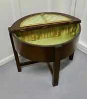Oak Half Moon Sewing Box (4 of 7)