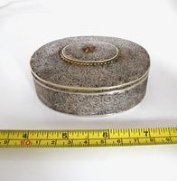 Very Rare 18th Century Indian Filigree Silver Padan Box Karimnagar c.1760 (11 of 11)
