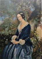 The Day Before Marriage, Colour Print by George Baxter, 1854, Framed (2 of 9)