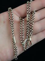 Antique 9ct gold muff chain, Victorian necklace (6 of 17)