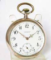 Antique Silver Galonne Pocket Watch (2 of 5)