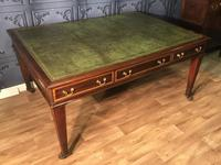 George III Style Mahogany Partners Library Table (14 of 14)