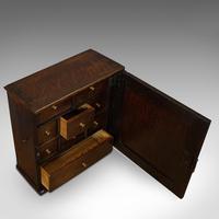 Antique Tea Cabinet, English, Oak, Spice, Apothecary Case, Georgia  c.1800 (4 of 12)