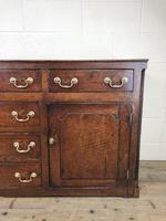 George III Oak Dresser Base (13 of 23)