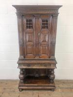 19th Century Oak Cupboard on Stand (2 of 10)