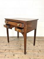Early 19th Century Oak Side Table or Lowboy (9 of 10)