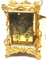 Extremely Rare 8-day Striking Carriage Repeat Feature Waterbury Clock Co c.1880 (9 of 14)