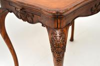 Antique French Carved Satinwood Occasional Table (6 of 12)