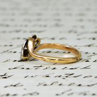 The Vintage Rosy Illusion Trio Diamond Ring (4 of 5)