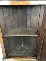 Small Oak Wall Hanging Corner Cupboard (5 of 9)