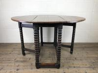 Early 18th Century Yew & Fruitwood Gateleg Table (12 of 12)