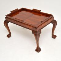 Mahogany Chippendale Style Tray Top Coffee Table (3 of 12)