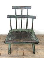 Unusual Primitive Style Painted Stick Chair (2 of 10)