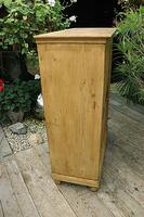 Lovely Old Stripped Pine Food Cupboard / Linen / Larder / Storage  - We Deliver! (6 of 9)