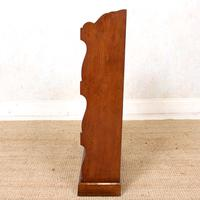 Oak Open Bookcase Waterfall Solid Carved (5 of 8)