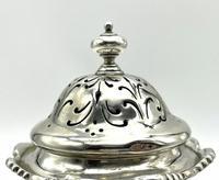 West & Sons Irish Solid Silver Sugar Shaker 1915 (5 of 8)
