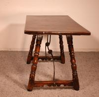 Spanish Table from the 16th Century in Walnut (10 of 13)