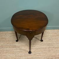 Edwardian Walnut Antique Tea Table (3 of 6)