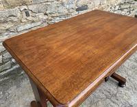 Antique Regency Mahogany Library Table (13 of 14)