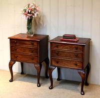 Pair of Mahogany Bedside Cabinets (9 of 10)