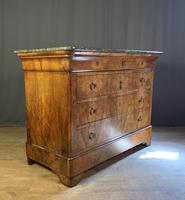 Large Louis Philippe Walnut Commode (12 of 12)
