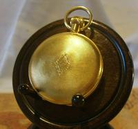 Vintage Pocket Watch 1970s Swiss County 17 Jewel 12ct Gold Plated FWO (8 of 12)