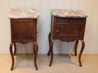 Pair Of French Walnut Bedside Cabinets (10 of 10)