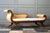 19th Century Regency Mahogany Chaise Longue