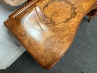 Stylish Burr Walnut Queen Anne Dressing Table (5 of 14)