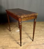Superb French Rosewood Fold-over Top Card Table (6 of 14)