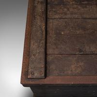 Antique Master Craftsman's Chest, English, Pine, Mahogany, Tool Trunk, Victorian (11 of 12)