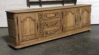 Superb Long French Oak Dresser Base (9 of 15)