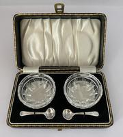 Cut Crystal Salts c.1930 (2 of 5)