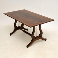 Flame Mahogany Regency Style Coffee Table (3 of 8)