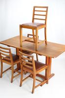 Oak Refectory Dining Table & 4 Chairs Manner of Heals (8 of 13)