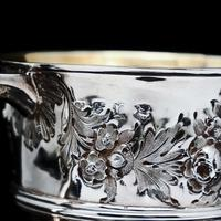 Georgian Solid Silver Loving Cup / Two Handled Cup - London 1748 (18 of 28)