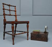 William IV Rosewood Turned Side Chair